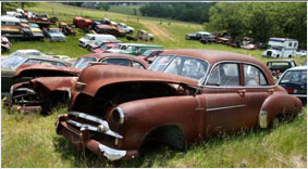 Have damaged junk cars, sell it to get cash for cars